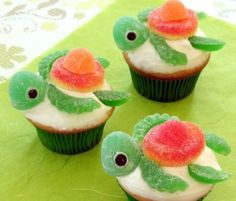 Squirt Turtle Cupcakes Are A Party Favourite | The WHOot