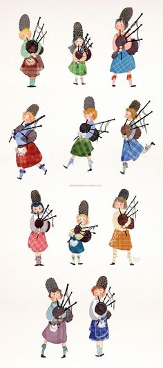 eleven pipers piping - Google Search