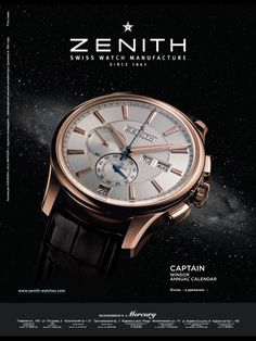 Gorgeous Zenith Watches Photography, Jewelry Photography, Still Life Photography, Product Photography, Watch Image, Watch Photo, Watch Ad, Ads Creative, Advertising Photography