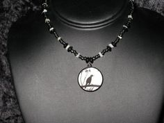 Quoth The Raven Choker Necklace by BerrysBaubles on Etsy, $20.00