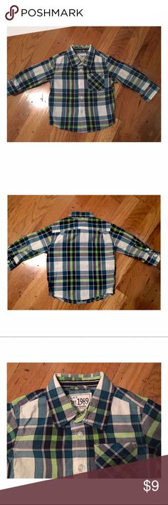 Children's place Toddler shirt Button down top. Worn once Children's Place Shirts & Tops Button Down Shirts