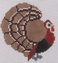 Petei for Painted Pony Designs Turkey PT209 Hand Painted Needlepoint Canvas