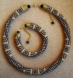 Греческий золотой | biser.info - всё о бисере и бисерном творчестве