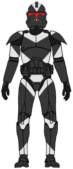Utapaun shadow trooper, they were part of the 212th attack battalion's invasion of utapaun at the end of clone wars