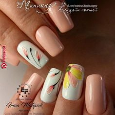 Nail art is a very popular trend these days and every woman you meet seems to have beautiful nails. It used to be that women would just go get a manicure or pedicure to get their nails trimmed and shaped with just a few coats of plain nail polish. Manicure Nail Designs, Nail Manicure, Toe Nails, Nail Art Designs, Nail Polish, Manicures, Nail Designs Spring, Coffin Nails, Gorgeous Nails