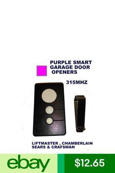 10 best chamberlain garage door images on pinterest garage door sears craftsman 13953753 one button garage door opener remote control 315 mhz fandeluxe Choice Image