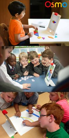 Osmo is the next step in revolutionizing your classroom! Osmo works with iPad and lets kids learn while playing outside of the screen - using physical manipulatives. Games are designed for your classroom and customizable for your lesson plans.
