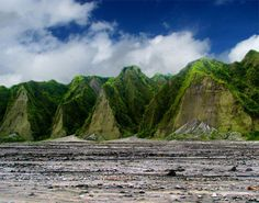 Mount Pinatubo: An active stratovolcano located on the island of Luzon, at the intersection of the borders of the Philippine provinces of Zambales, Tarlac, and Pampanga.