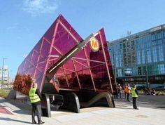 Warsaw metro installation 2015 Warsaw Metro, Metro Station, Opera House, Travel, Art, Craft Art, Trips, Viajes, Kunst