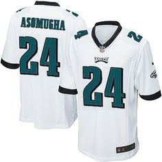 As the official online store of the NFL Philadelphia Eagles, we offer you a large selection of new Youth Nike Philadelphia Eagles #24 Nnamdi Asomugha Limited White Jersey for men's, women's, youth and kids at Official Shop. Visit the official NFL Eagles Store regularly for great discounts, free shipping offers on top Philadelphia Eagles Jersey and the latest fan gear for men, women and kids! $69.99
