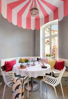 Die schwedische Interior Designerin Isabelle McAllister ist die wahre Pippi Langstrumpf. Sie malt sich die Welt, wie sie ihr gefällt. Und verrät, wie das jeder tun kann.