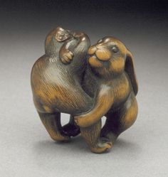 Rabbit and Monkey | LACMA Collections