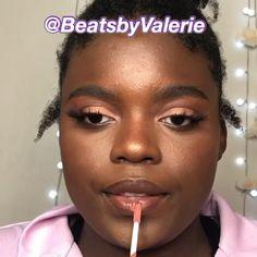 Flawless Face Makeup, Contour Makeup, Contour Face, Makeup For Black Skin, Black Girl Makeup, Makeup Tutorial For Beginners, Makeup Tutorial Videos, Full Makeup Tutorial, Makeup Tutorial Foundation