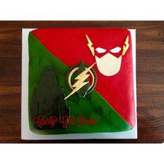 Flash/Arrow cake