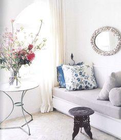 gostei das almofadas floridas