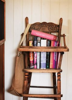 Need to use my old wooden highchair this way