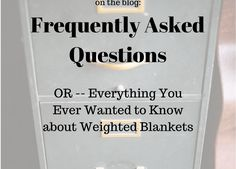 Sewing Weighted Blanket FAQ, or Everything You Need to Know About Weighted Blankets Craft Tutorials, Sewing Tutorials, Sewing Projects, Sewing Ideas, Craft Patterns, Sewing Patterns Free, Free Pattern, Zipper Parts, Weighted Blanket