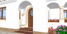 2014_17_Casa Ileana si Gabriel Iliescu_12 Oversized Mirror, Outdoor Structures, Case, Romania, Gabriel, Furniture, Google, Home Decor, Archangel Gabriel