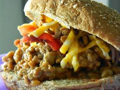 Recipes Straight from the Kowboys Home: Bacon Cheeseburger Sloppy Joe