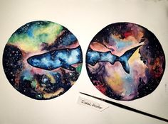 Between two worlds  #watercolor #art #whaleshark #space #nebula #colors #artist #arts_help #arts_mag #arts_gallery #artmg03 #imaginationarts #creativeminds #creativempire #artspix #arts_featuring_page #drawsofinsta #art_supportive #arts_secret  #talentedpeopleinc #art_spotlight by artistic_optimist