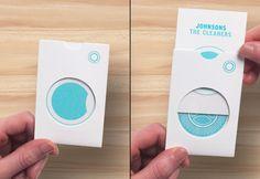 Johnsons The Cleaners branding by Ben Vessey branding