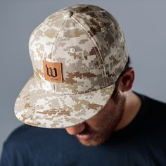 Digital Desert Camo Snap-Back