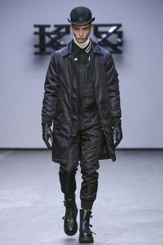 KTZ Menswear Fall Winter 2015 London