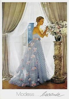 Modess Advertisement 1952
