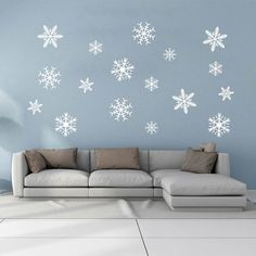 Home Decoration, Snowflakes, Restaurant, Windows, Interior Design, The Originals, Stylish, Wall, Christmas