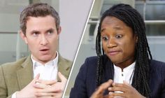 Douglas Murray and Samantha Davies. (USA be warned. Purge your legal system of these Luvvie Liberals before it's too late. Britain is now paying the price for the silent infiltration of the EUrophiles into all of our institutions! Can someone please smuggle a bugging device into the next Bilderberg meeting? If you don't know what Bilderberg is you MUST check it out! jp)