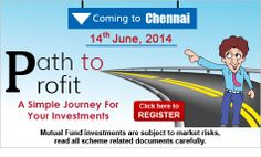 Path to Profit comes to Chennai!!! Grab this opportunity to interact with Quantum's experts and clear your doubts about investing in mutual funds prudently. Attend our free investor education event! Click to Register - http://www.quantumamc.com/PTP/Registration.aspx?Campaign=461832