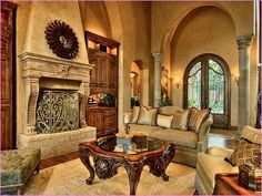 Tuscan Living Room With Chandles Centerpieces And Tuscan Sofa And Chairs :  Natural Tuscan Living Room. Living Room Ideas Tuscan,living Room Tuscan  Style ...