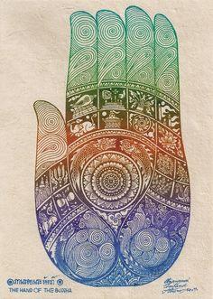 la mano de Buda (2)