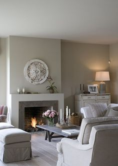 Check out this Belgian Style Interiors: Living Rooms (Modern Country Style) More The post Belgian Style . Beige Living Rooms, New Living Room, Living Room Modern, Living Room Interior, Home And Living, Living Room Designs, Living Room Decor, Interior Livingroom, Cozy Living