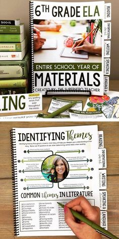 6th grade English Language Arts materials | Middle school ELA | 30+ skills covered | 35+ activities | Reading literature | Informational Text | Writing | Speaking & listening | Language resources