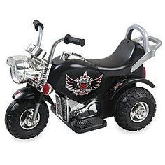 Little Motorcycle 6-Volt Ride-on Toy: Slick, yet safe! Little wild ones love this motorcycle ride-on toy for its sleek design, working head and tail lights, and exciting sound effects (including a police siren).