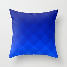 Blueberry Tile pattern pillow