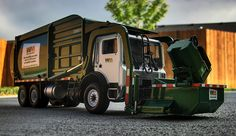 First Gear Diecast 1:34 Scale Front-Load Garbage Truck by TrashMonkey22, via Flickr