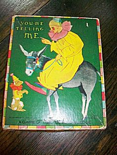 Vintage Game 1910s You're Telling Me Milton Bradley