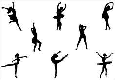 Dance Silhouette Vector - silhouettevector.net