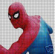 Spiderman Back Crochet Pattern