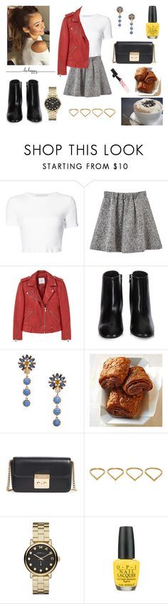 """02/04/17"" by milena-serranista ❤ liked on Polyvore featuring Rosetta Getty, MANGO, Balenciaga, Made of Me, MICHAEL Michael Kors, Ana Khouri, Marc by Marc Jacobs, OPI and Victoria's Secret"