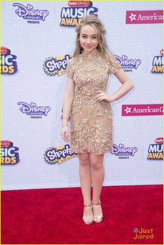 Sabrina Carpenter at the Radio Disney Music Awards 2015