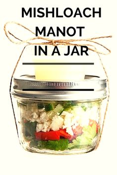 Tons of ideas for easy Mishloach Manot in a Jar