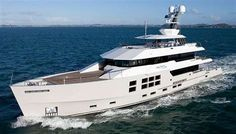 Mcmullen & Wing's Luxurious 'Big Fish' Boat #yachts trendhunter.com