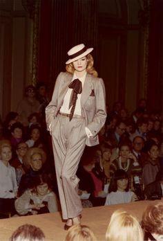 Yves Saint Laurent, haute couture printemps-été 1978