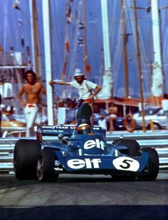 Jackie Stewart, Tyrrell-Ford 006, 1973 Monaco GP, Monte Carlo