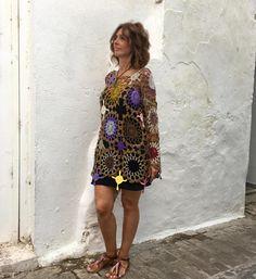 Ravelry: Jersey Garden pattern by Lola & Punto Crochet Magazine, Mantel, Ravelry, Summer Dresses, Pattern, Garden, Hippy, Fashion, Yarns