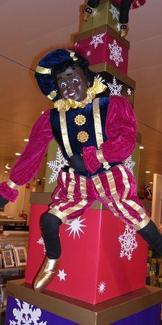 Zwarte Piet decoratie cadeautjes