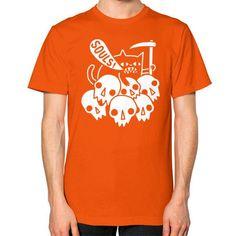 Cat Got Your Soul Unisex T-Shirt (on man)